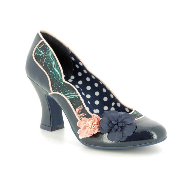 Ruby Shoo High-heeled Shoes - Navy - 09184/70 VIOLA