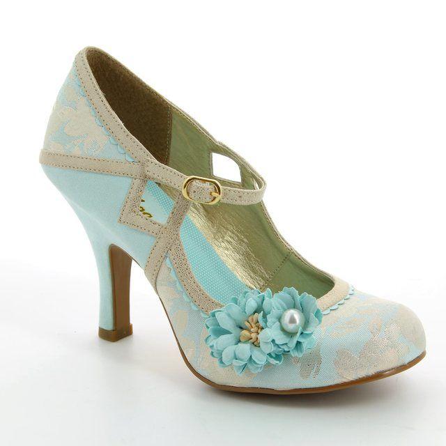 Ruby Shoo High-heeled Shoes - Pale blue - 09088/70 YASMIN