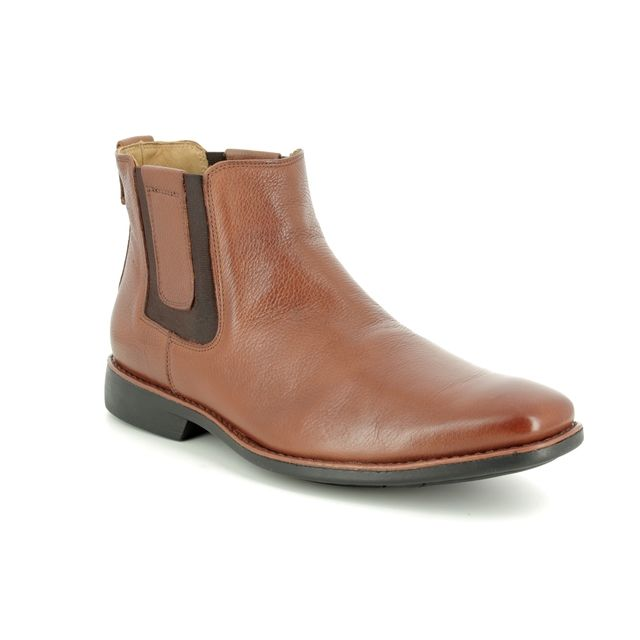 Savelli Chelsea Boots - Tan Leather  - 6713/20 CARDOSIN
