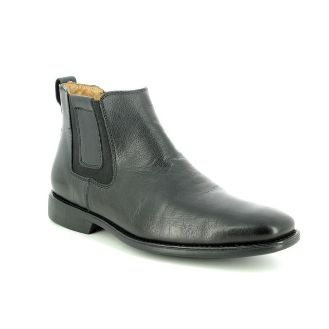 Savelli Chelsea Boots - Black leather - 6713/30 CARDOSIN