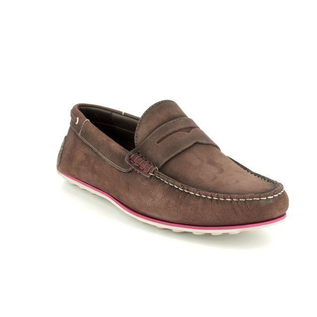 Savelli Loafers - Brown nubuck - 06813/20 COMFORT MOCC