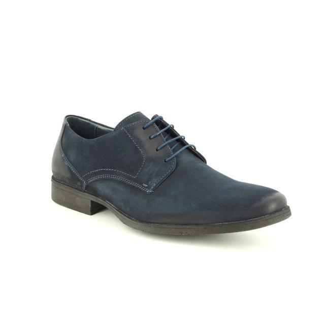 Savelli Formal Shoes - Navy Nubuck - 05613/20 MOSARI
