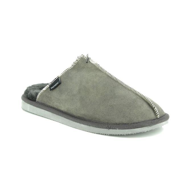 Shepherd of Sweden Mules - Grey matt leather - 1201016 HUGO
