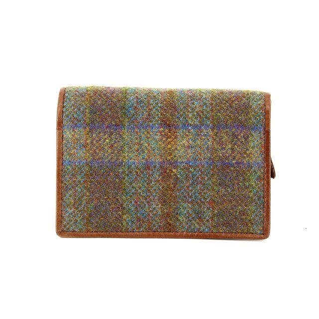Shetland Tweed Purse - Tan multi - 3115/20 3115