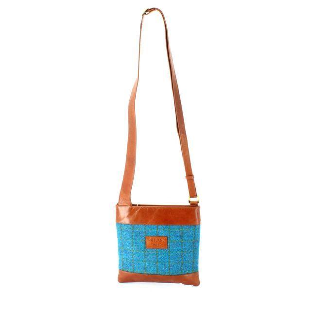 Shetland Tweed Body Bag 7524-71 Tweed handbag