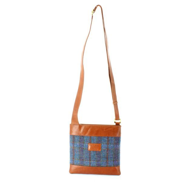 Shetland Tweed Body Bag 7524-82 Tweed handbag