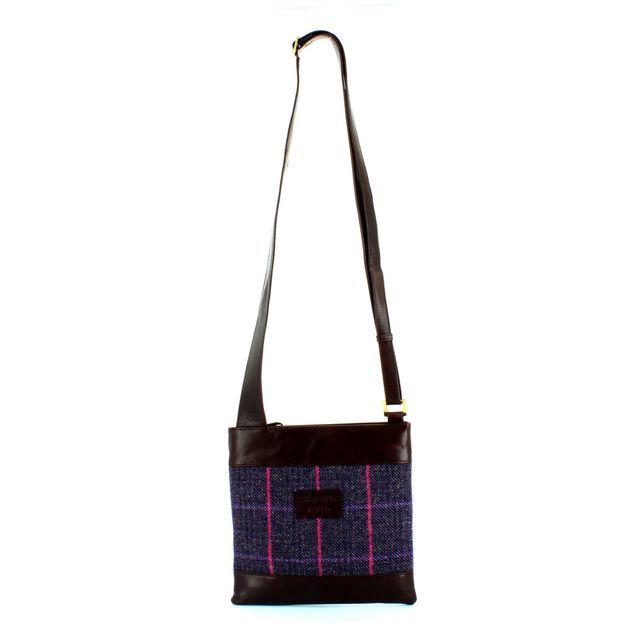 Shetland Tweed Body Bag 7524-92 Tweed handbag