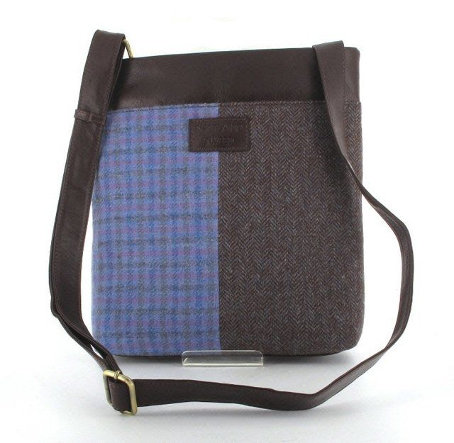 Shetland Tweed Body Bag Tweed 0002-90 LILM handbag