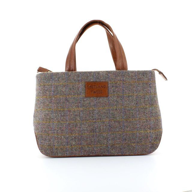 Shetland Tweed Hobo 5029-91 Tweed handbag