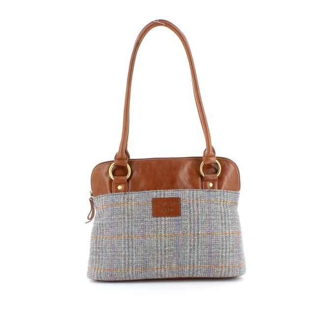 Shetland Tweed Handbag - Tweed - 5030/71 SHOULDER