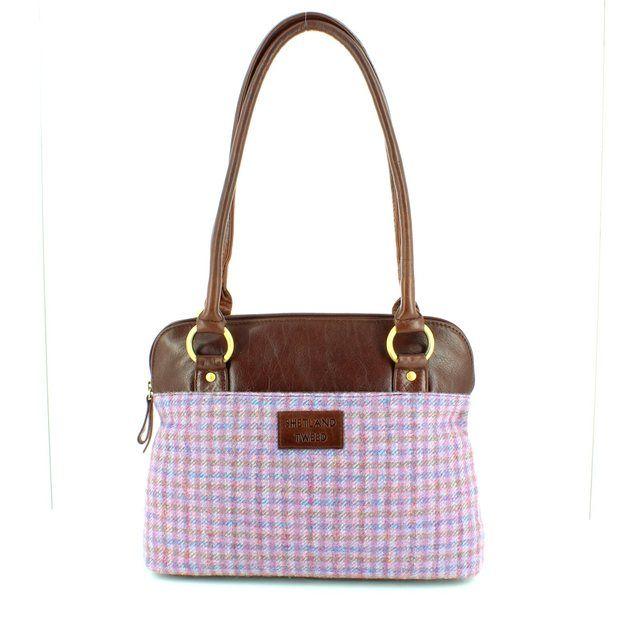 Shetland Tweed Shoulder 5030-72 LILM handbag