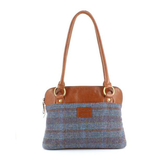 Shetland Tweed Shoulder 5030-81 Tweed handbag