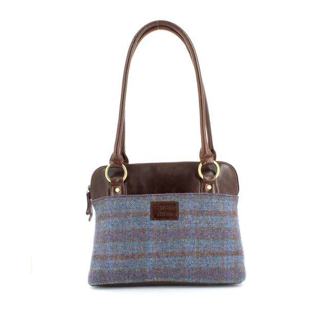 Shetland Tweed Handbag - Tweed - 5030/82 SHOULDER