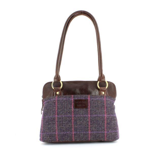 Shetland Tweed Handbag - Tweed - 5030/92 SHOULDER