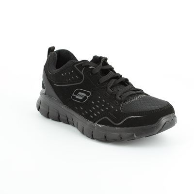 Skechers Trainers - Black - 11792/23 A LISTER 11792