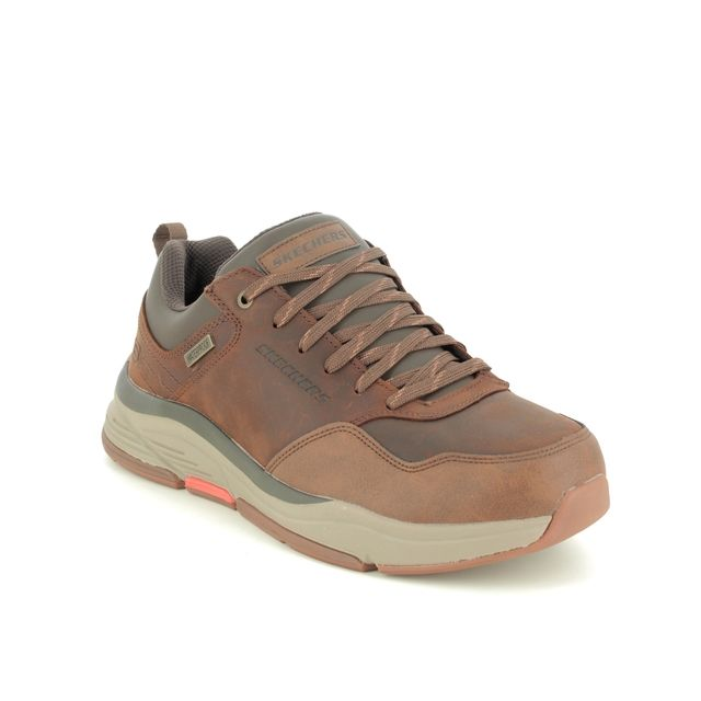 Skechers Casual Shoes - Brown - 210021 BENAGO HOMBRE RELAXED FIT