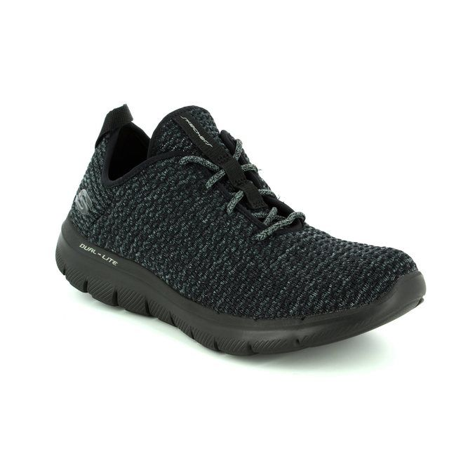 Skechers Trainers - Black-Grey - 12773/076 BOLD MOVE