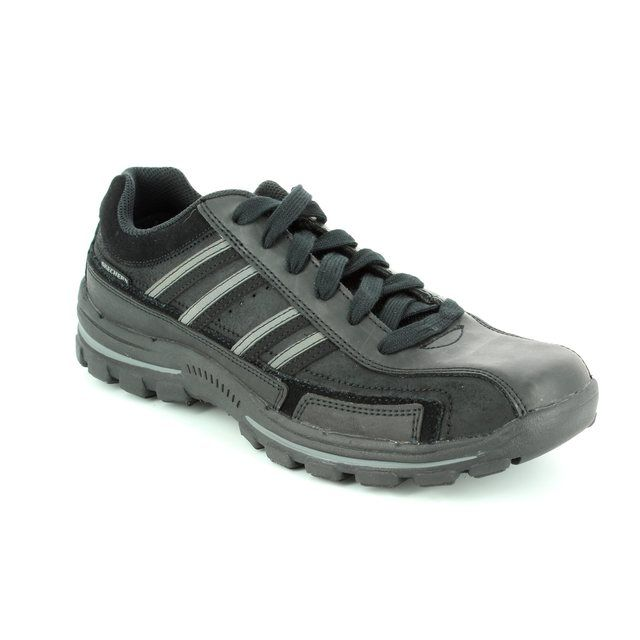 Skechers Casual Shoes - Black - 64624 BRAVER GONSOR
