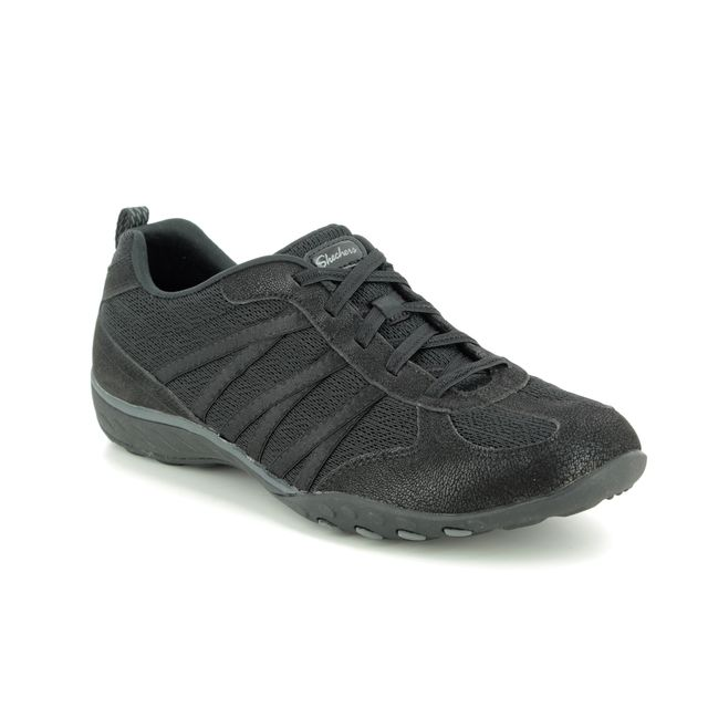 Skechers Comfort Shoes - Black - 23812 BREATHE EASY