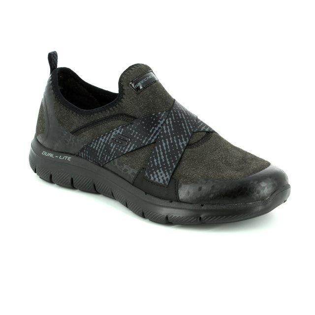 Skechers Trainers - Black - 12619 BRIGHT EYED