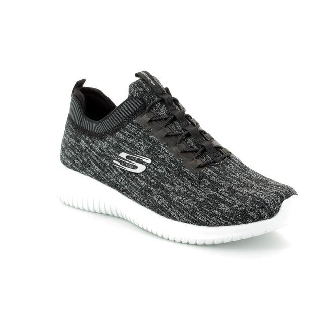 Skechers Trainers - Black grey - 12831 BRIGHT HORIZON