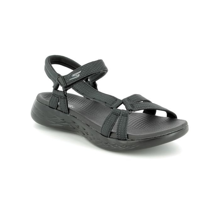 Skechers Walking Sandals - Black - 15316 BRILLIANCY