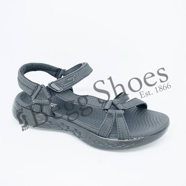 Skechers Walking Sandals - Charcoal - 15316/917 BRILLIANCY