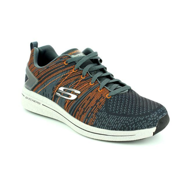 Skechers Burst 2 52615 CCOR Charcoal grey trainers