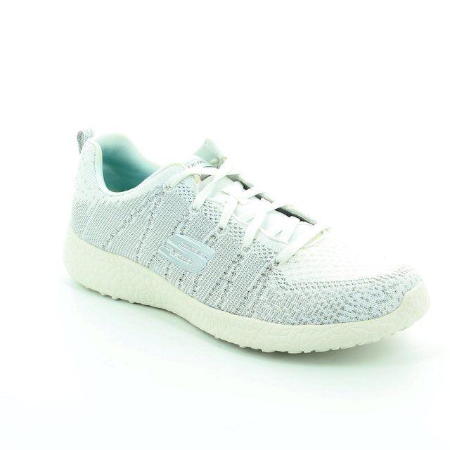 Skechers Burst Glimpse 12438 WSL White-silver trainers