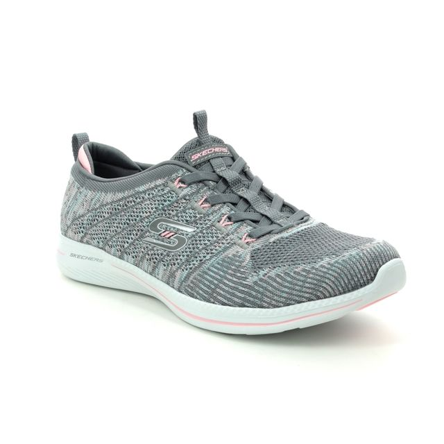 Skechers Trainers - Grey croc - 104023 CITY PRO BUSY