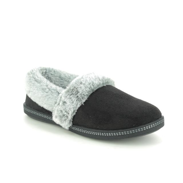 Skechers Slippers - Black - 32777 COZY CAMPFIRE