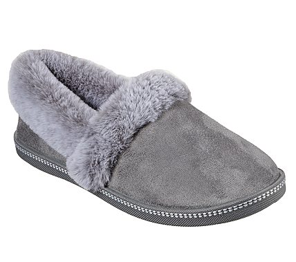 Skechers Slippers - Grey - 32777 COZY CAMPFIRE
