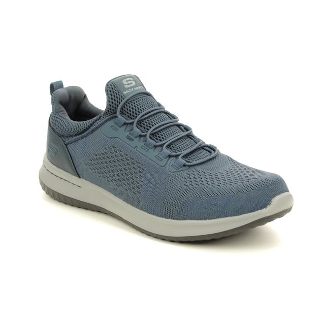 Skechers Trainers - Blue - 65509 DELSON BREWTON