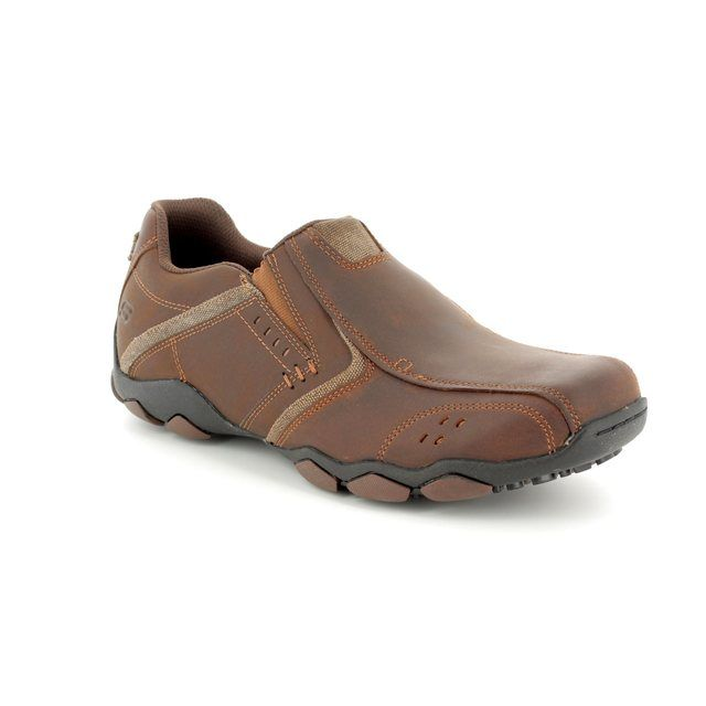Skechers Casual Shoes - Brown - 64680 DIAMETER VALEN
