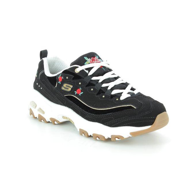 Skechers Trainers - Black-white - 13084 DLITES ROSE