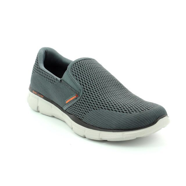 Skechers Double Play 51509 CCOR Charcoal grey trainers