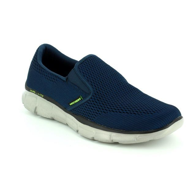 Skechers Trainers - Navy - 51509 DOUBLE PLAY