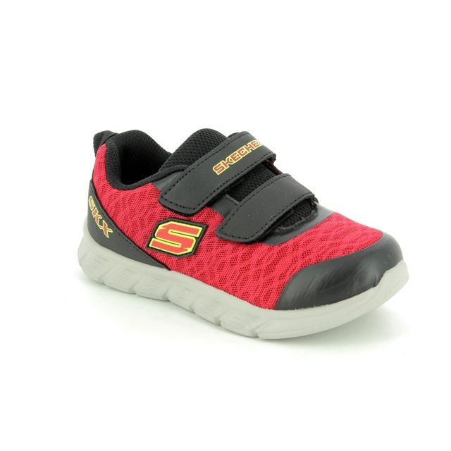 Skechers First Shoes - Red-black - 95037 DOUBLE SPRINT
