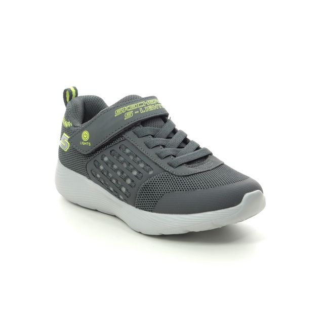 Skechers Trainers - Charcoal Yellow - 90740L DYNA LIGHTS
