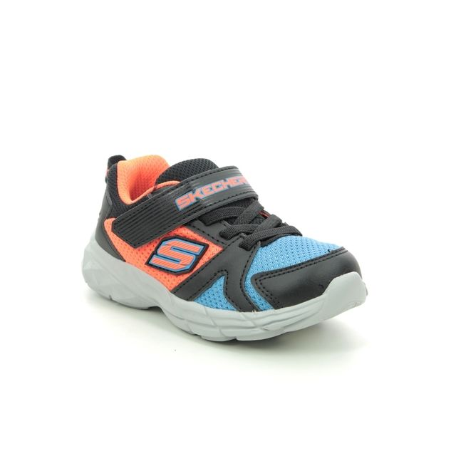 Skechers Trainers - Orange Blue - 95020N ECLIPSOR INF