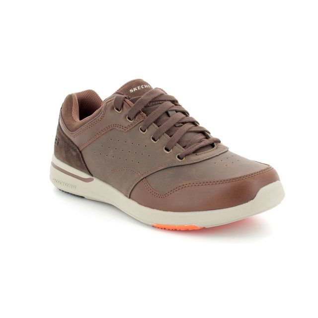 Skechers Casual Shoes - Brown - 65406 ELENT VELAGO