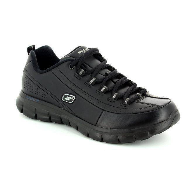 Skechers Elite Status 11798 BBK Black lacing shoes