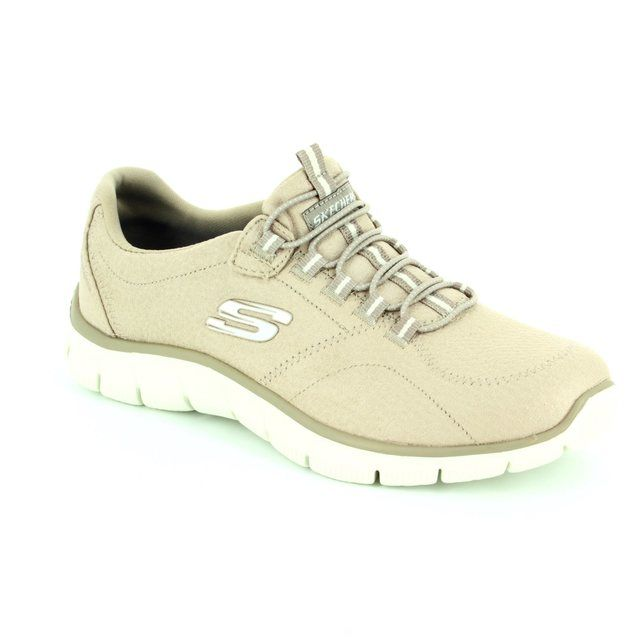 Skechers Trainers - Taupe - 12407 EMPIRE