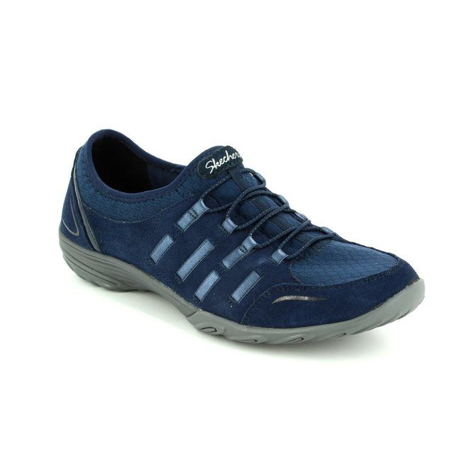 Skechers Lacing Shoes - Navy - 23103 EMPRESS