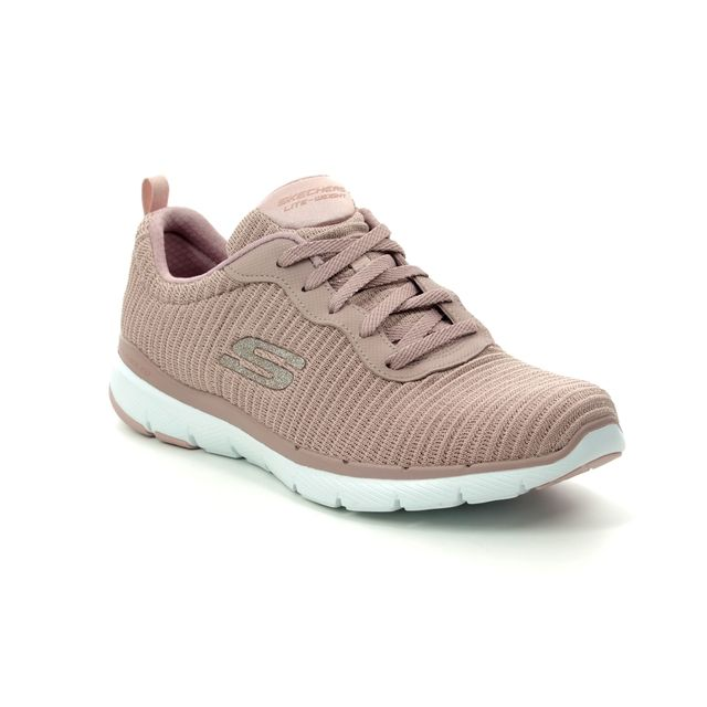 Skechers Trainers - Mauve - 13071 ENDLESS GLAMOUR