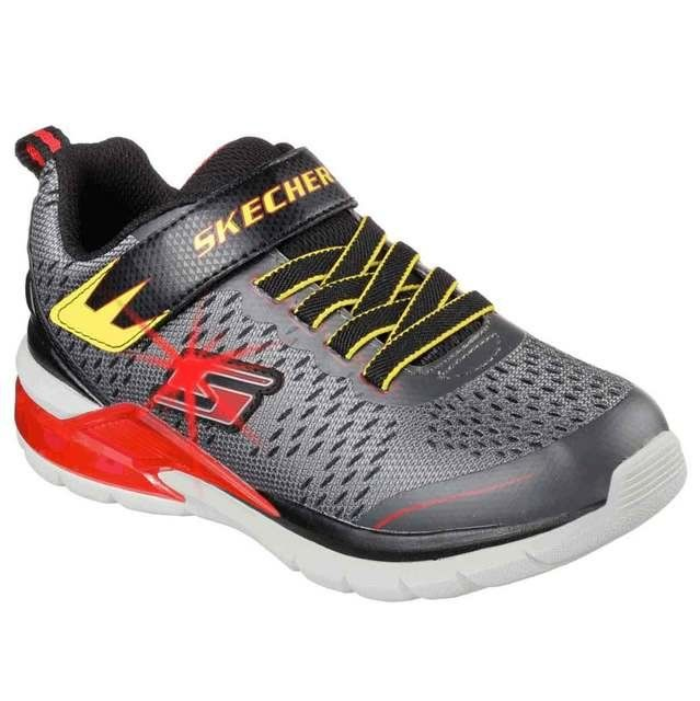 Skechers Erupters Arc 90551 CCRD Grey-Red everyday shoes