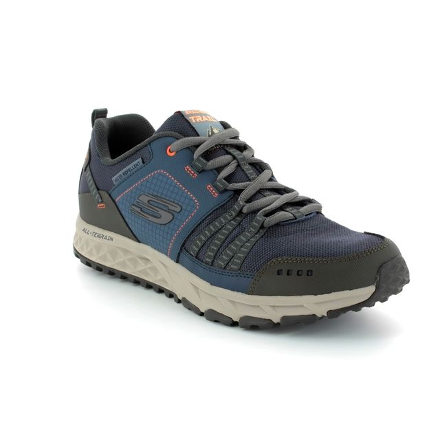 Skechers Trainers - Navy - 51591 ESCAPE PLAN