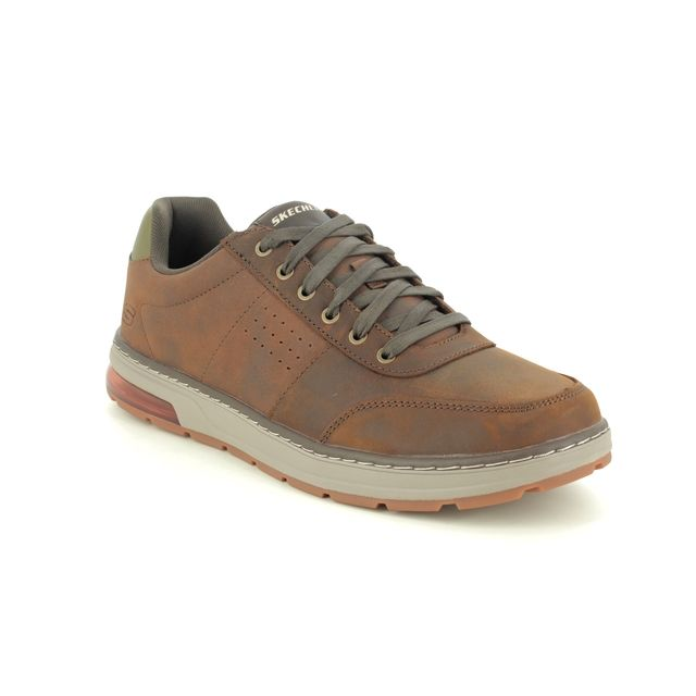 Skechers Fashion Shoes - Brown - 210142 EVENSTON FANTO