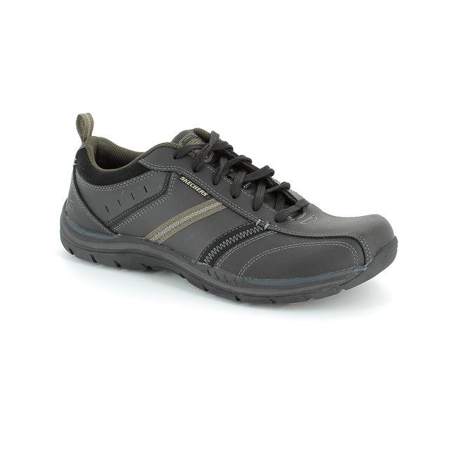 Skechers Expect Superio 64378 BKTN Black tan casual shoes