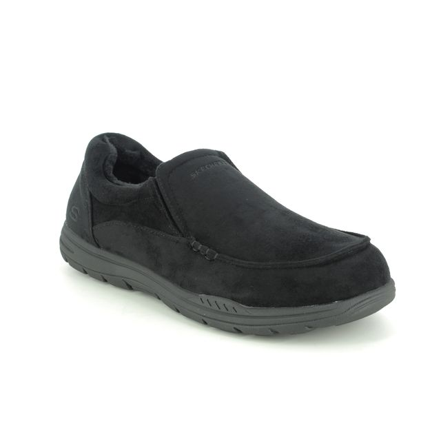 Skechers Slippers - Black - 66445 EXPECTED X L